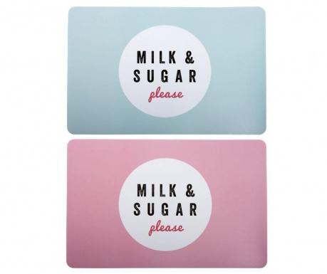 Set 2 individualuri Milk & Sugar 28.2x43.5 cm