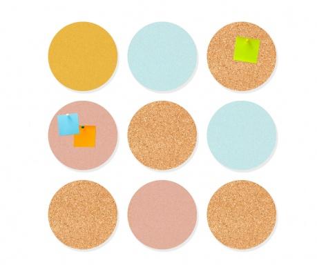 Set 9 memo panela Circles