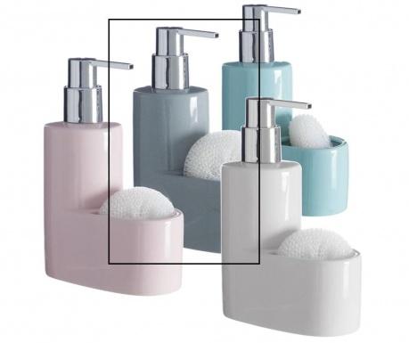 Dispenser detergent lichid si burete Pastel Grey