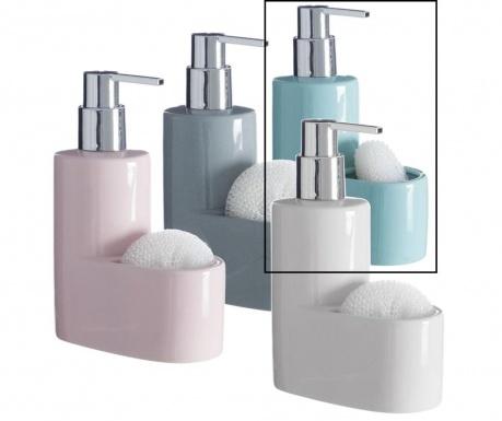 Dispenser detergent lichid si burete Pastel Green