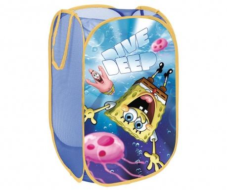 Zložljiva shranjevalna košara za igrače Sponge Bob