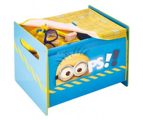 Cutie cu capac pentru jucarii Minions