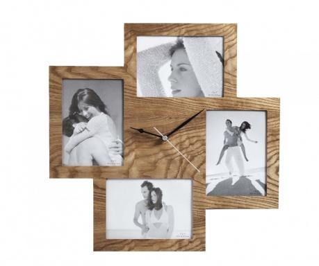 Collage Wooden Falióra 4 fényképtartóval