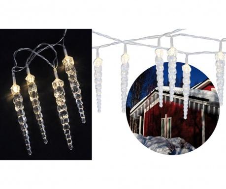 Ghirlanda luminoasa de exterior Icicles Chain