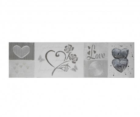 Rose Love Festmény 28x100 cm