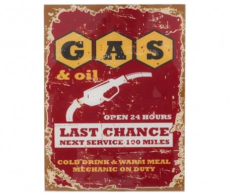 Nástěnná dekorace Gas