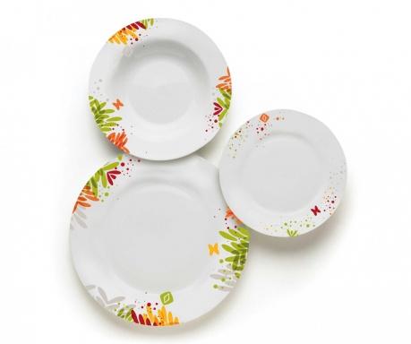 18-dijelni servis za jelo Garden Green