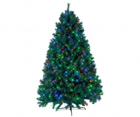 Изкуствена елха с LED-лампички Ontario Tree Green
