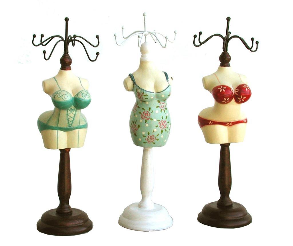 Set 3 stalka za nakit Sexy Vintage Ladies