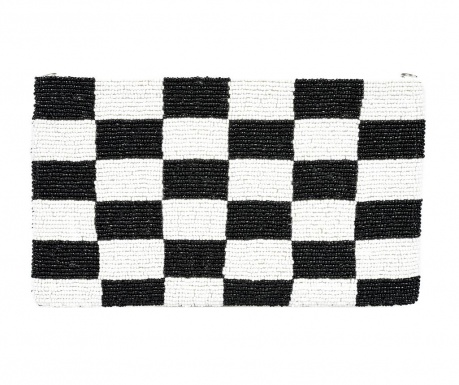 Listová kabelka Milla Black and White