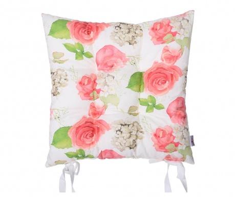 Print Flowers Ülőpárna 37x37 cm