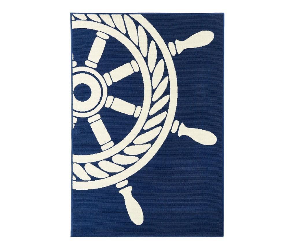 Wheel Navy Szőnyeg 133x190