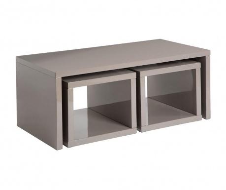 Madrid Grey 3 db Dohányzóasztal