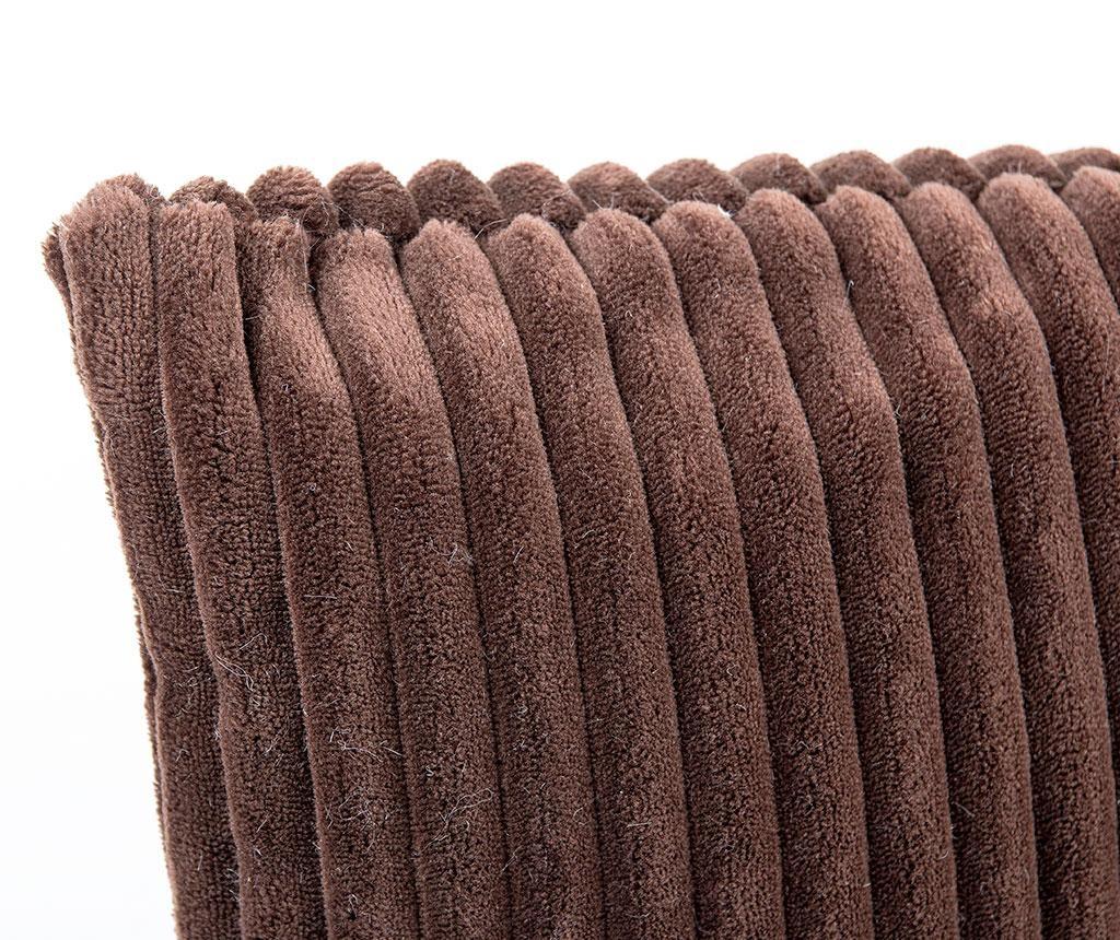 Ukrasni jastuk Striped Brown Long 30x60 cm