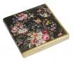 Set 20 papirnatih ubrusa Bloom Black