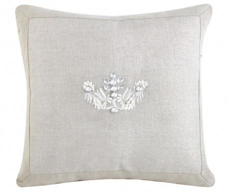 Διακοσμητικό μαξιλάρι Delicate Embroidery 35x35 cm