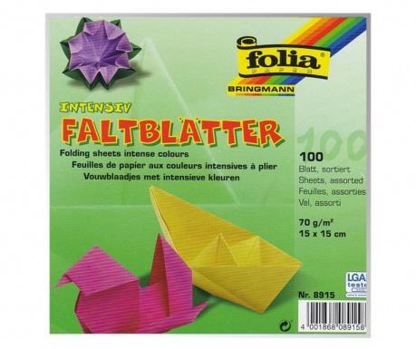Origami Blaetter , Set 100 Listova Papira Za Origami Create Vivre