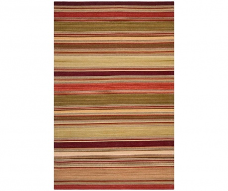 Koberec Dalat Striped Red 76x121  cm