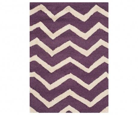 Koberec Edie Purple Ivory 91x152 cm