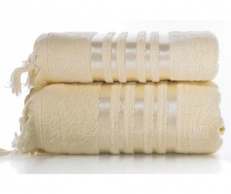 Zestaw 2 ręczniki kąpielowe Eleanor Cream