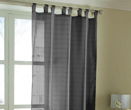 Voile Black Függöny 145x228 cm