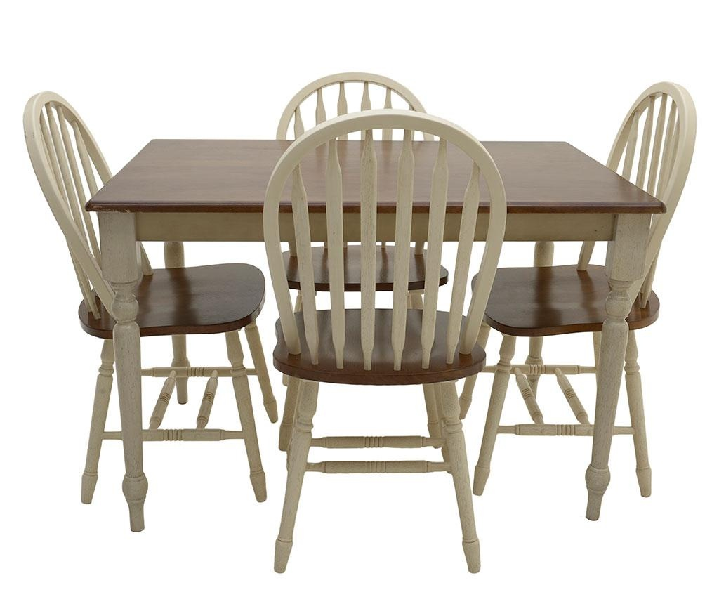 Set mize in 4 stolov Fine Contrast