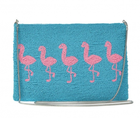 Envelope bag Pink Flamingo