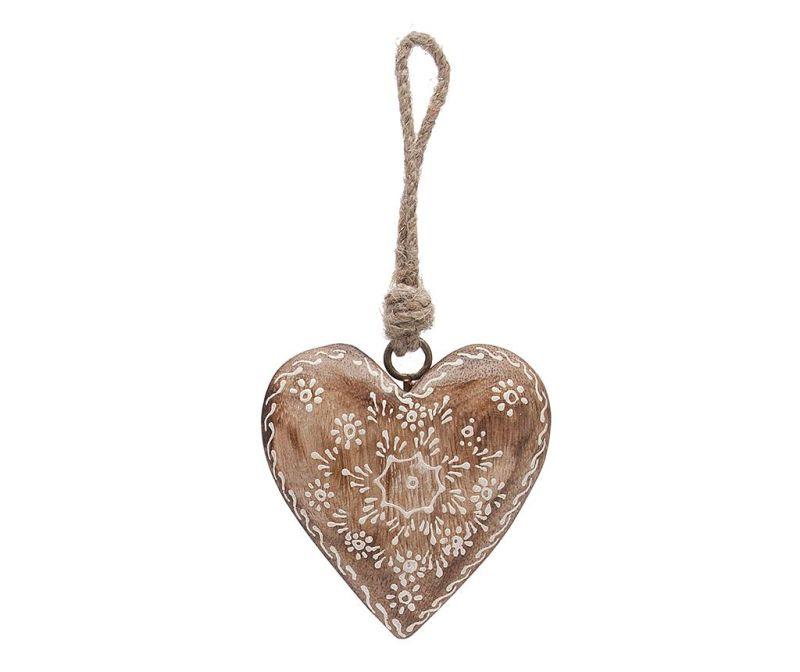 Viseča dekoracija Flower Heart