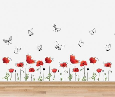 Naklejka Poppy Flowers