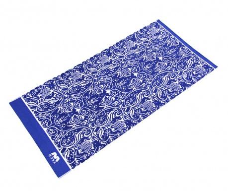 Πετσέτα μπάνιου Valdis Blue 100x150 cm