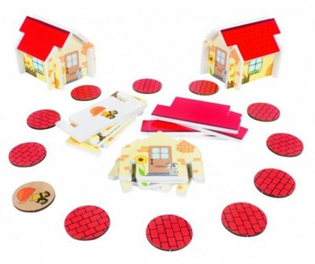 Joc de construit 36 piese Houses