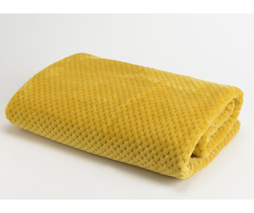 Pled Imaz Mustard 130x170 cm