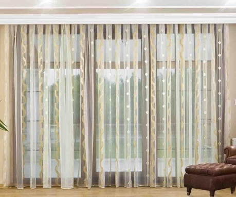 Záclona Manon Beige 200x260 cm
