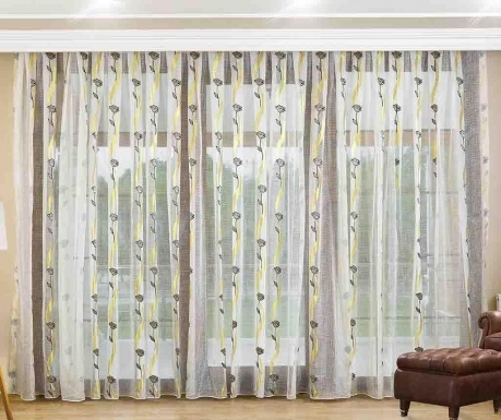 Curtain Rose Cream 200x260 cm