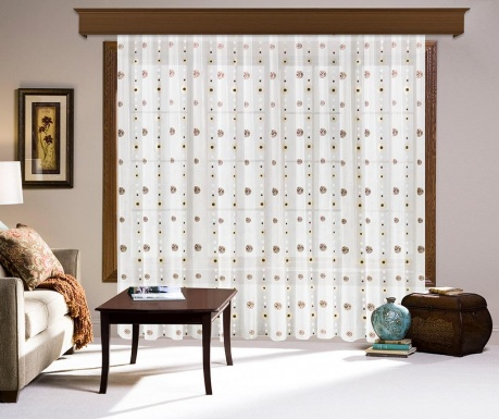 Záclona Carline 200x260 cm