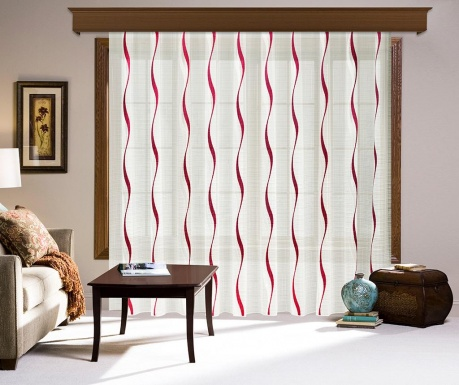 Záclona Belen Red 200x260 cm
