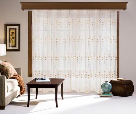 Záclona Torie Golden 200x260 cm