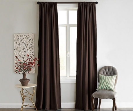 Drape Blackout Dark Brown 140x240 cm