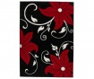 Covor Verona Black and Red 60x120 cm