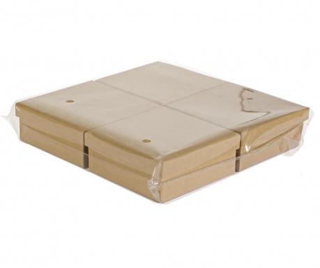 Avana 4 db Festhető doboz fedővel