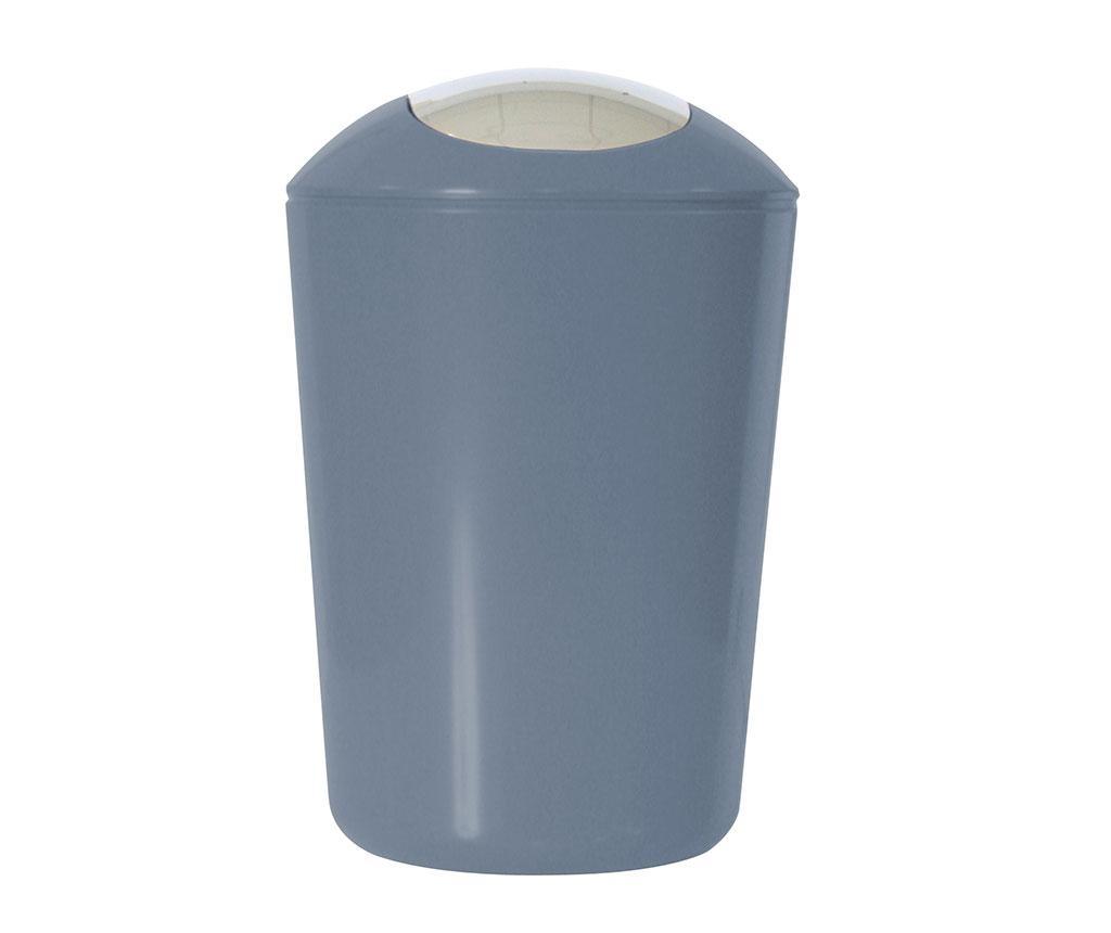 Kanta za smeće s poklopcem Swing Grey 5 L