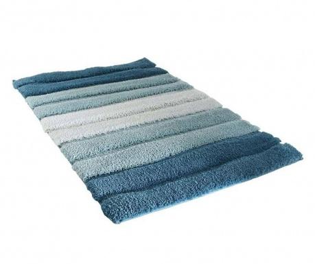 Predložka do kúpeľne Stripes Blue 50x70 cm