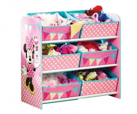 Шкафче с 6 коша Minnie Mouse
