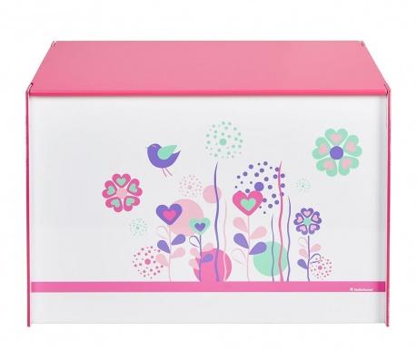 Кутия с капак за съхранение Flowers and Brids