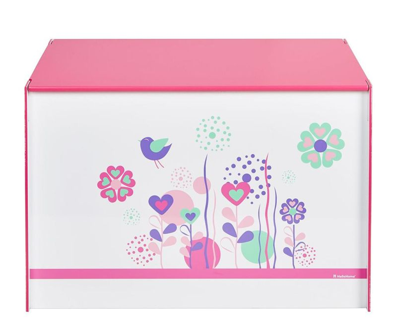 Shranjevalna škatla s pokrovom Flowers and Birds