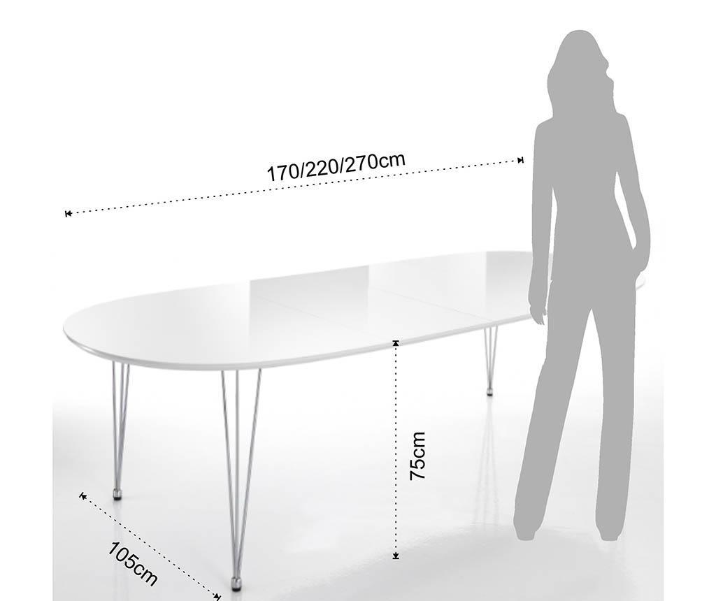 Raztegljiva miza Elegant
