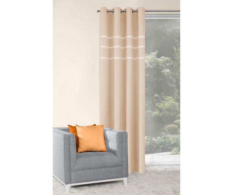 Záclona Lilia Beige 140x250 cm
