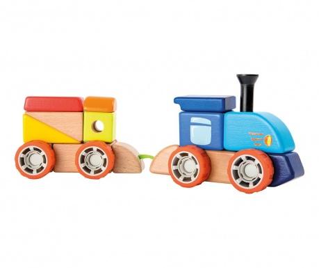 Joc de construit 22 piese Railway