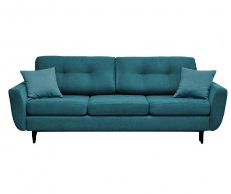 Canapea extensibila 3 locuri Jasmin  Turquoise