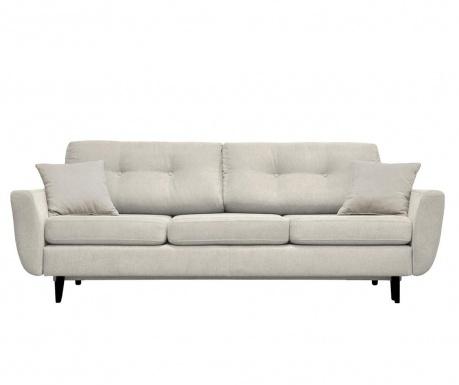 Canapea extensibila 3 locuri Jasmin  Cream